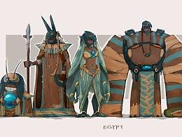 埃及文明-角色设定