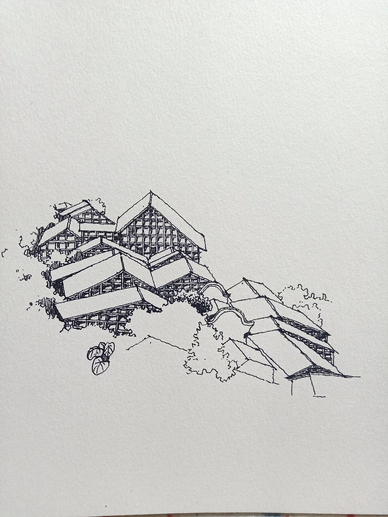 范炯钢笔画手绘基础班 提高班 精华班网络教学