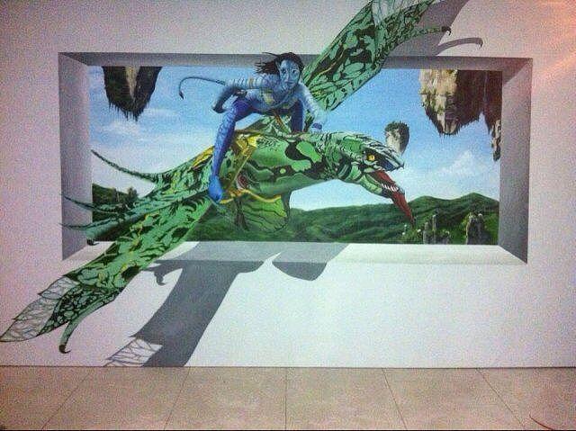 墙绘 3D