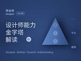 【完全体·06】(中)设计师能力金字塔解读,以及未来