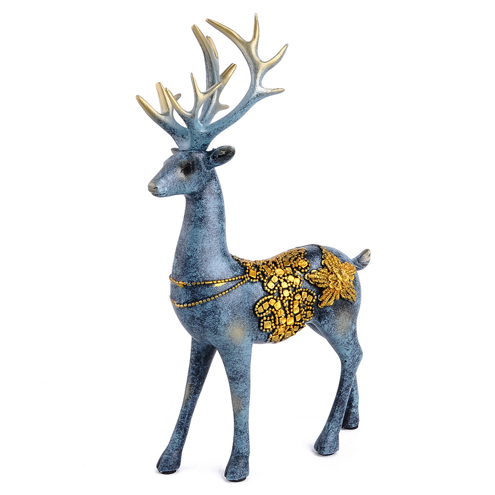 黏土人物手工制作麋鹿
