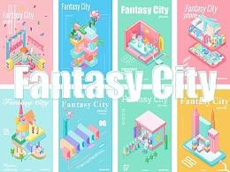 Fantasy City——Phone