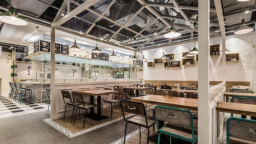 异国料理(日本) · 餐饮空间设计_一番寿司 厦门中华城店