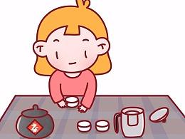 想喝茶 姜小姜  你好,大胡纸! 