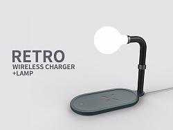 无线充电时代-无线充+灯