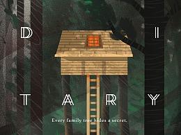 《遗传厄运》|电影插画海报