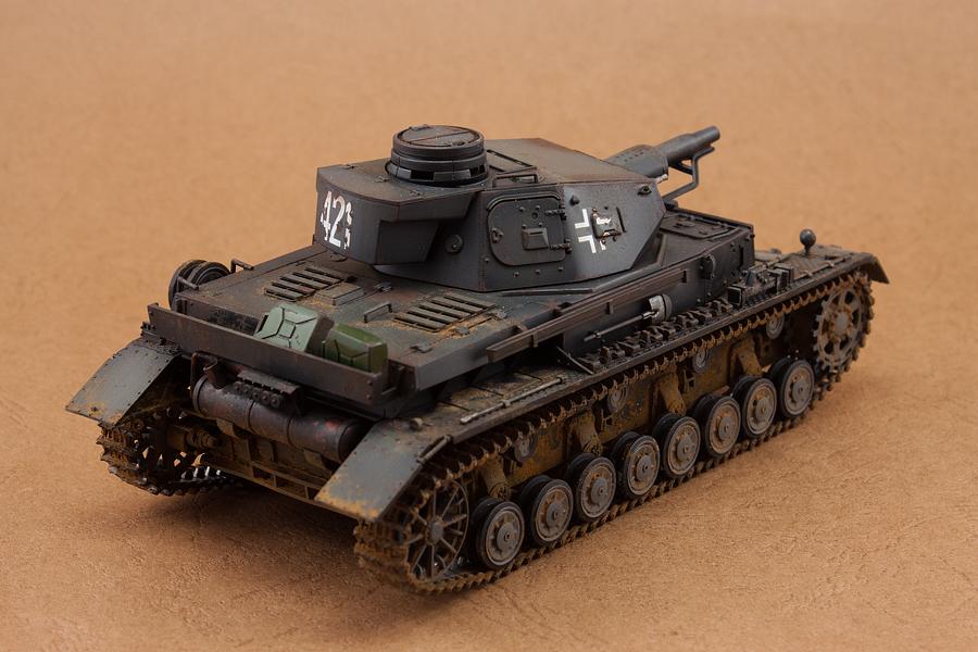 德国4号坦克_二战德国4号D型坦克|模型/平台玩具|手工艺|白用感叹号 - 原创 ...