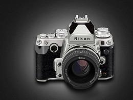 超写实图标练习—相机