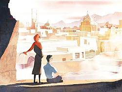 两个人的旅行画记-伊朗