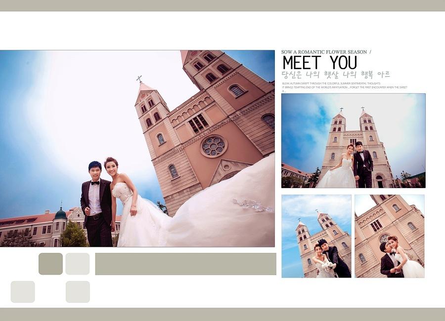 婚纱照相册的 个性排版 方式分享婚纱排版图片_婚纱排版设计素材-婚