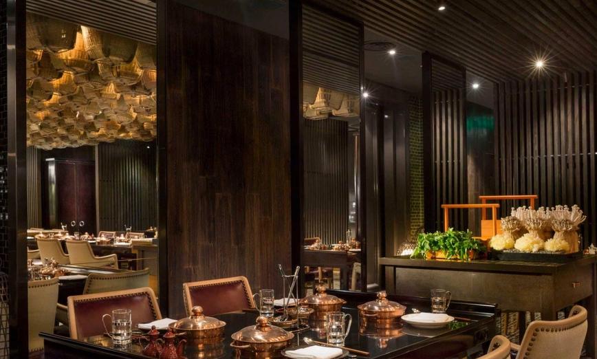西餐厅设计装修效果图-成都西餐厅设计装修|室内景观设计的基本摘要方法图片