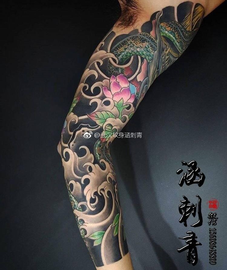 武汉纹身,纹身图案,传统纹身,纹身手稿图片