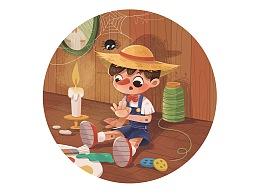 安徒生童话 儿童插画