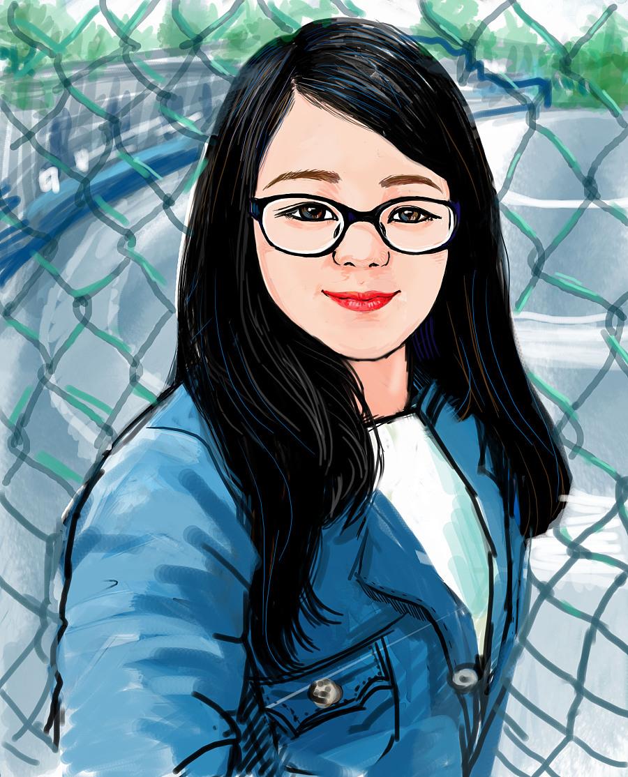 初学手绘板二|绘画习作|插画|阿铁伽佳