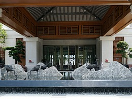 【GOGAR】深圳金沙湾酒万豪店 |景观雕塑