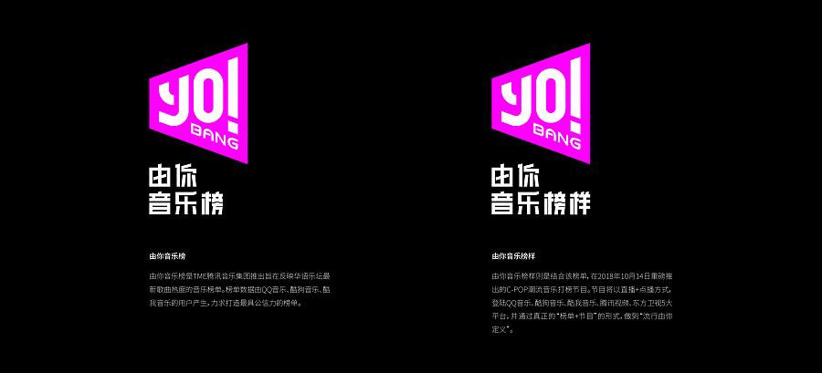 查看《■■腾讯音乐娱乐《YO!BANG》品牌形象&节目包装设计》原图,原图尺寸:4725x2146