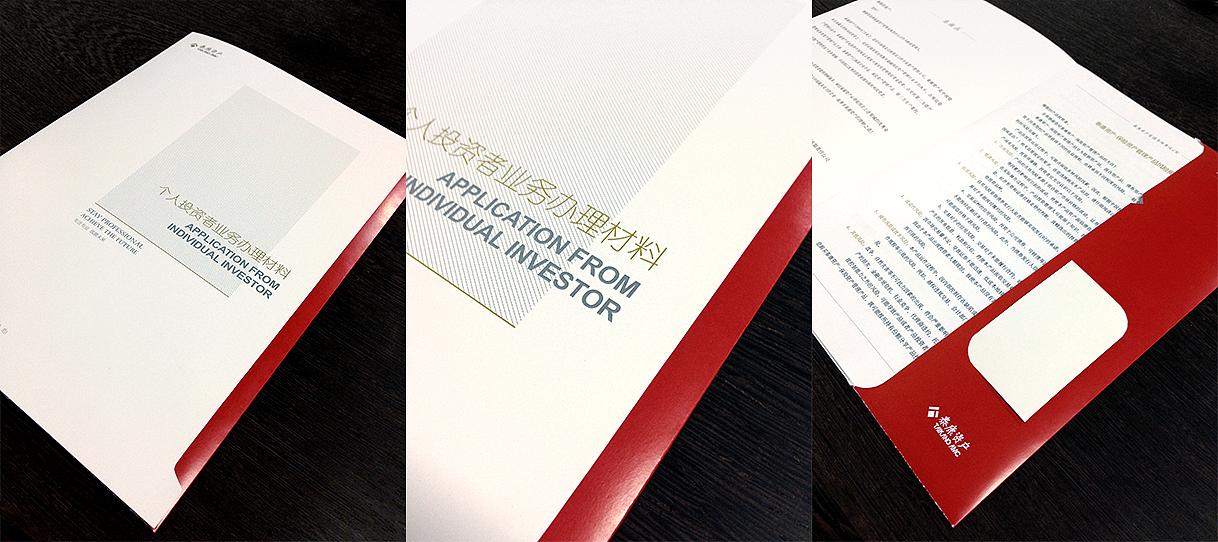 泰康资产封套/文件夹/封面设计图片