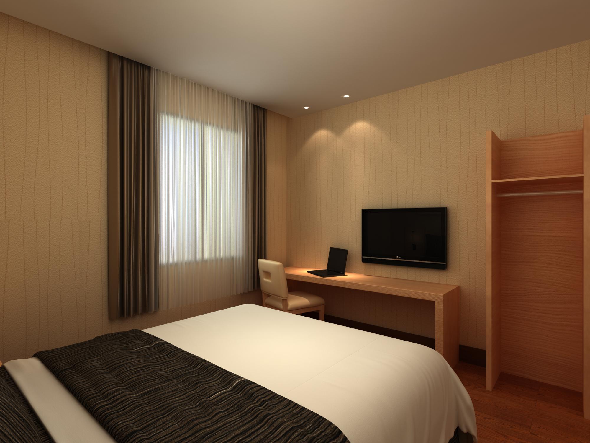 雅安快捷酒店设计装修——雅安快捷酒店装修设计档次定位很重要图片