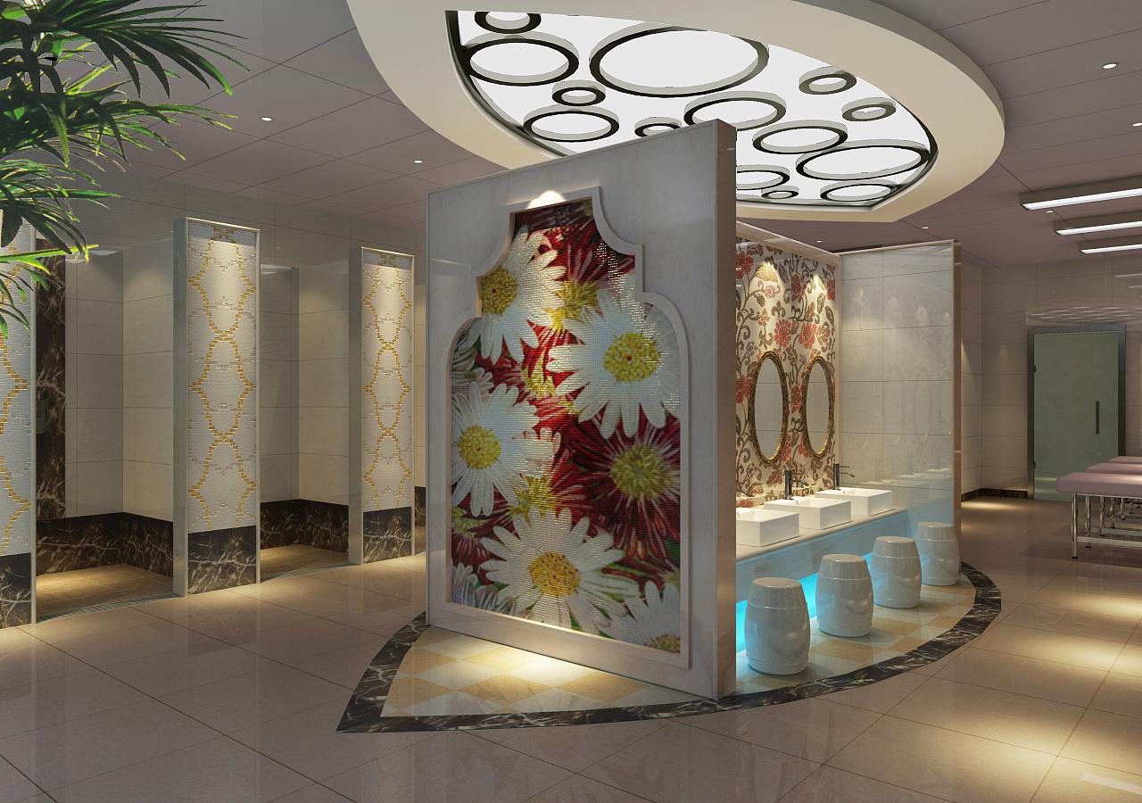 鸡西洗浴会所设计公司 洗浴中心装修设计公司 洗浴装修设计方案