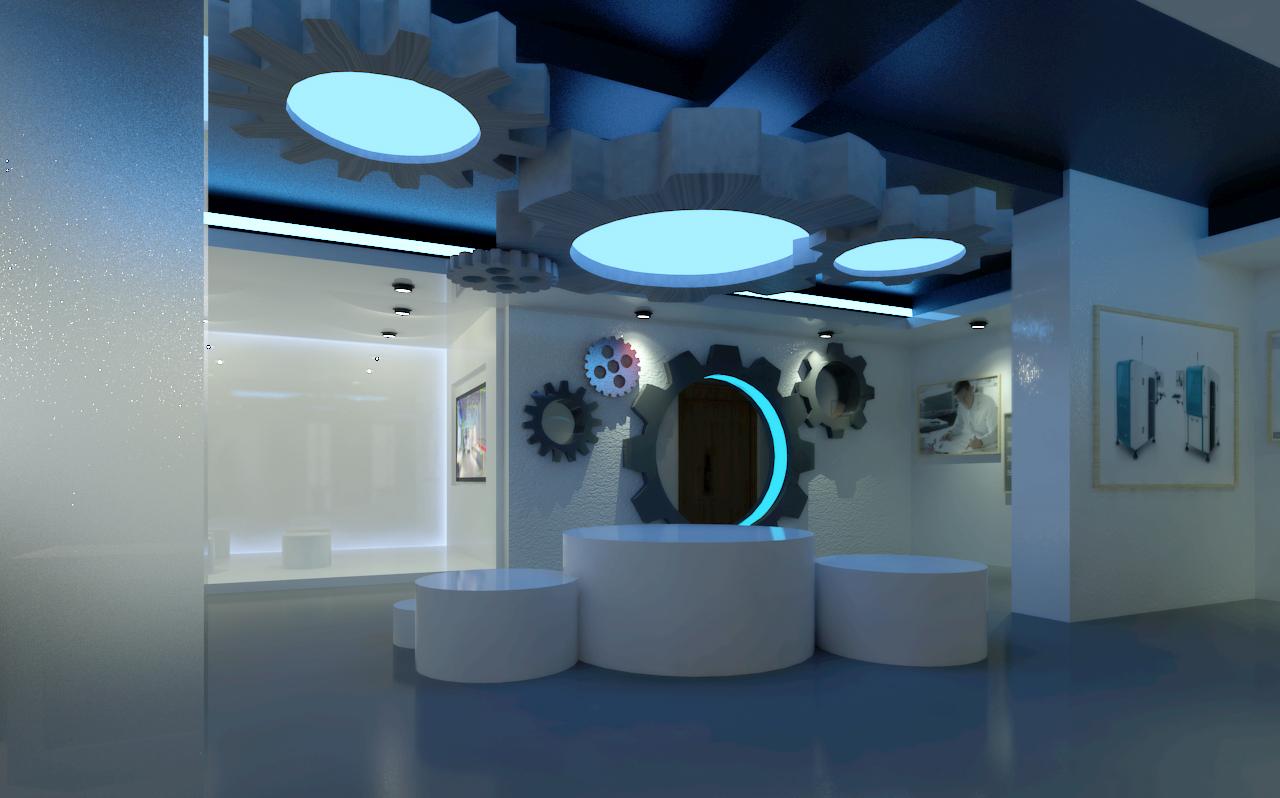 展厅效果图|空间|展示设计 |murdophy - 原创作品