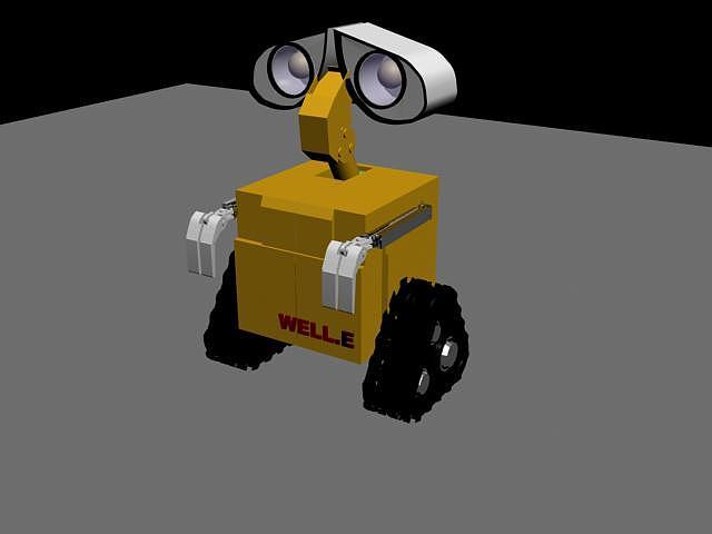瓦力机器人的瓦力