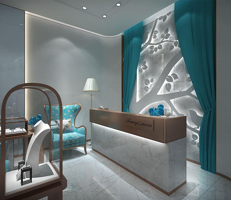 成都珠宝店设计公司 成都专业珠宝店设计公司-精心设计图片