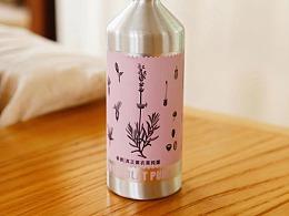 纯露瓶装设计
