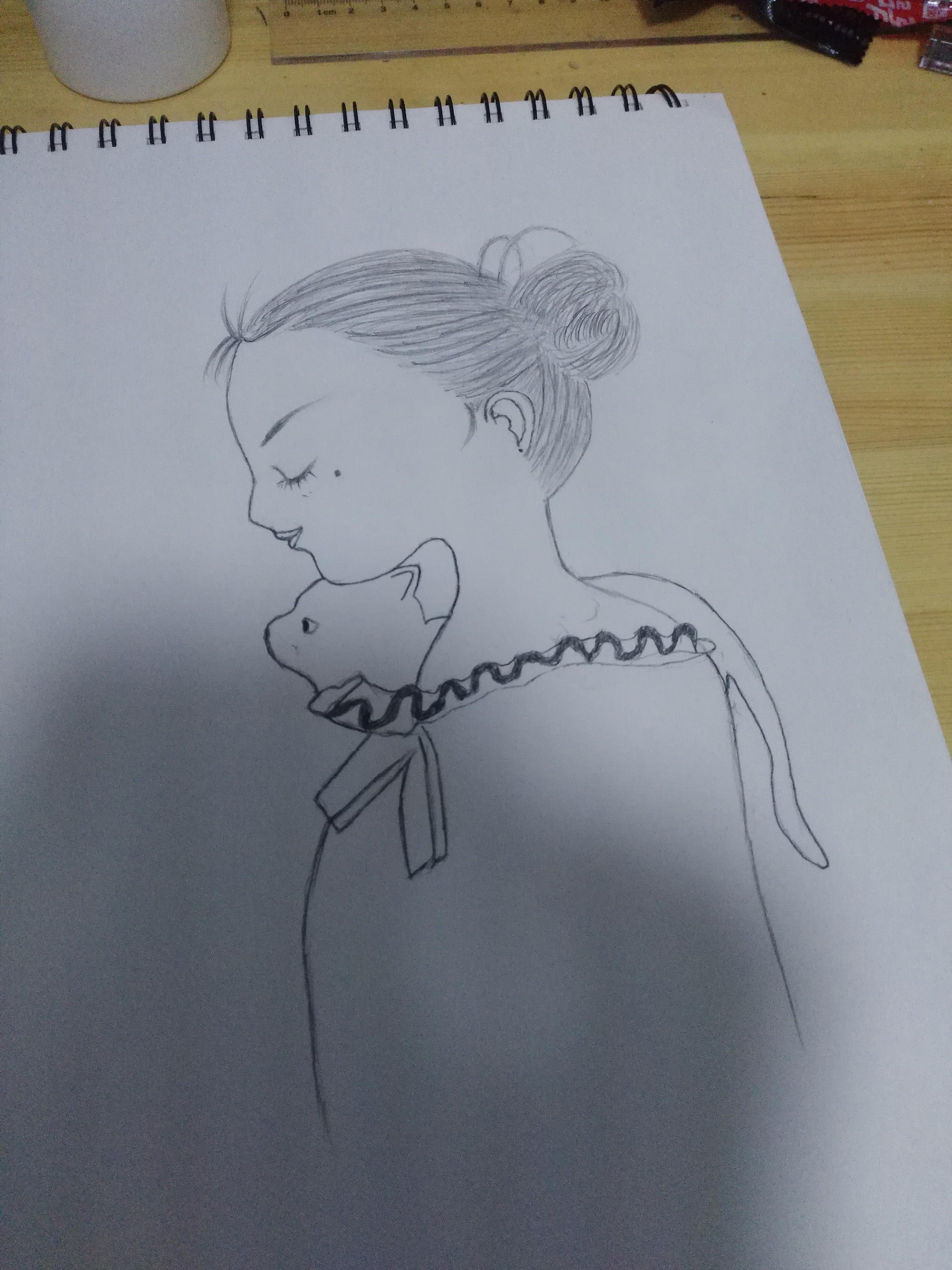 针管笔练习