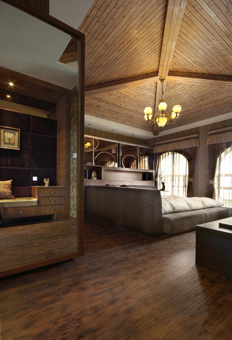 贵阳保利别墅2010公园装修设计案例|室内设计海滩红别墅图片