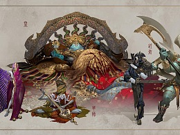 GGAC第二届全球游戏美术概念大赛奖项全揭秘第一弹!