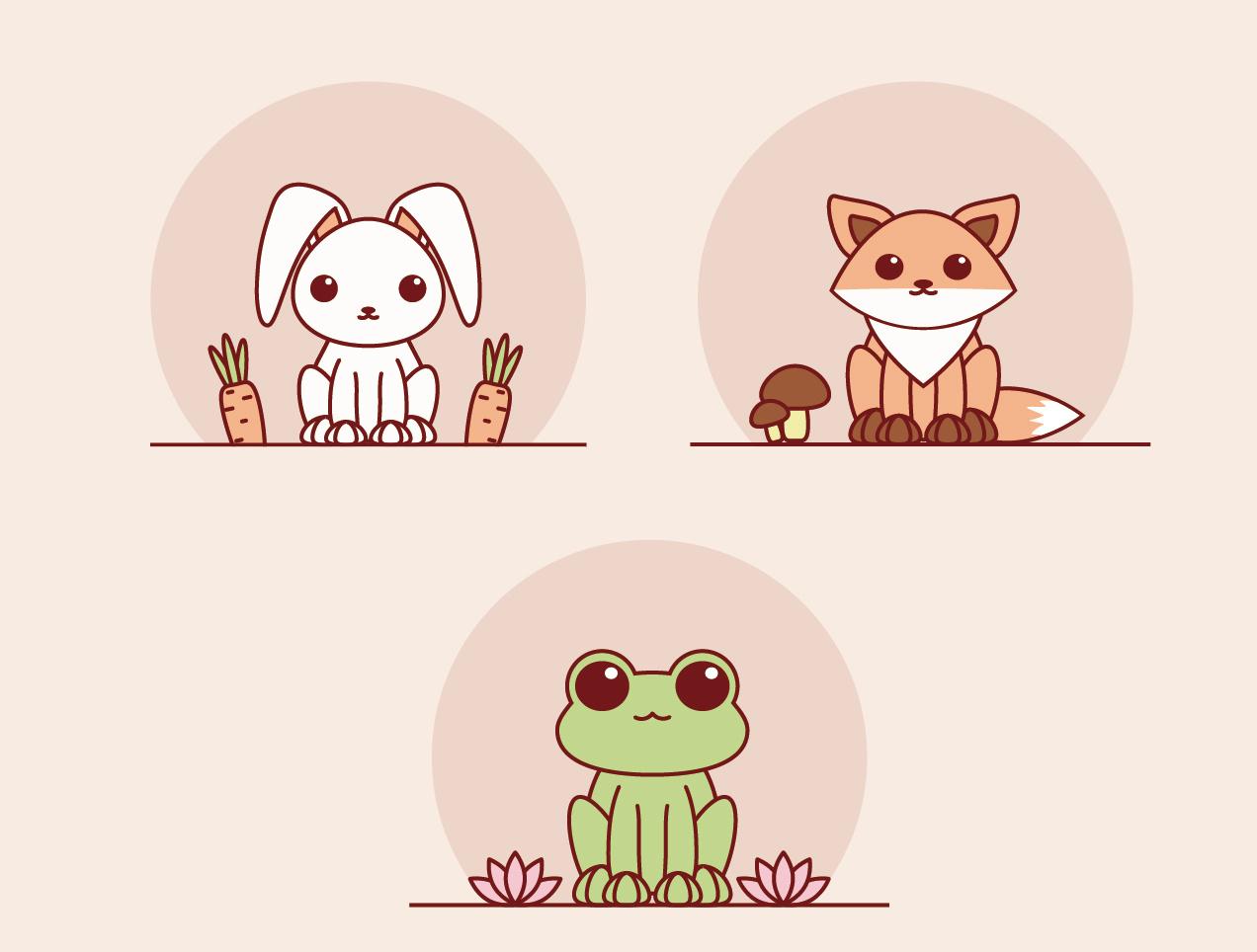 可爱小动物
