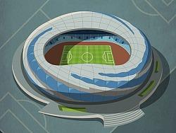 中国足球联赛球场-草草插图