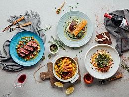 合盈   西餐摄影系列--「轻食主义」