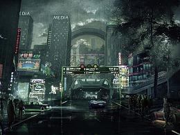 雨后城市第二