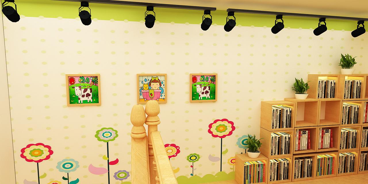 儿童书店简笔画