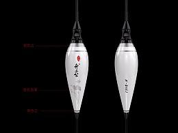 渔具产品设计纳米浮漂电子漂涂装设计舟三公电商产品