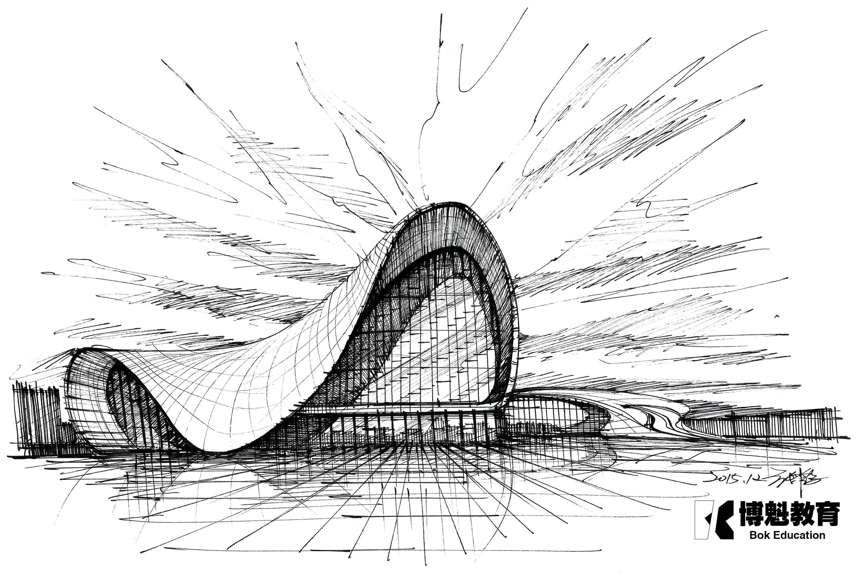 世界著名建筑速写