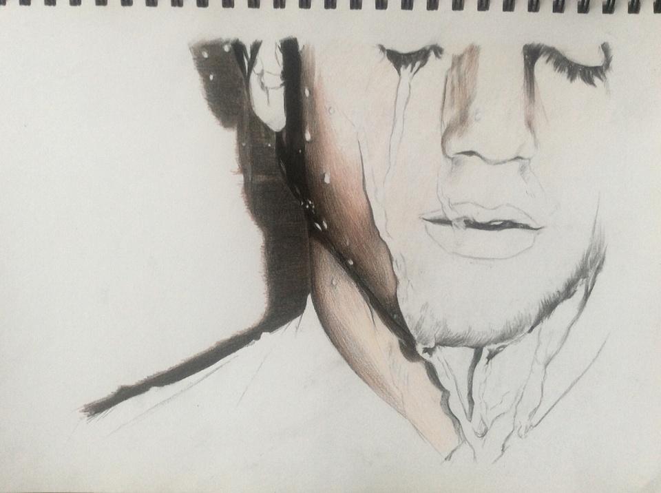 人物彩铅手绘