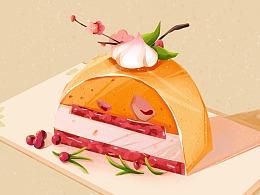 美食插画(一)