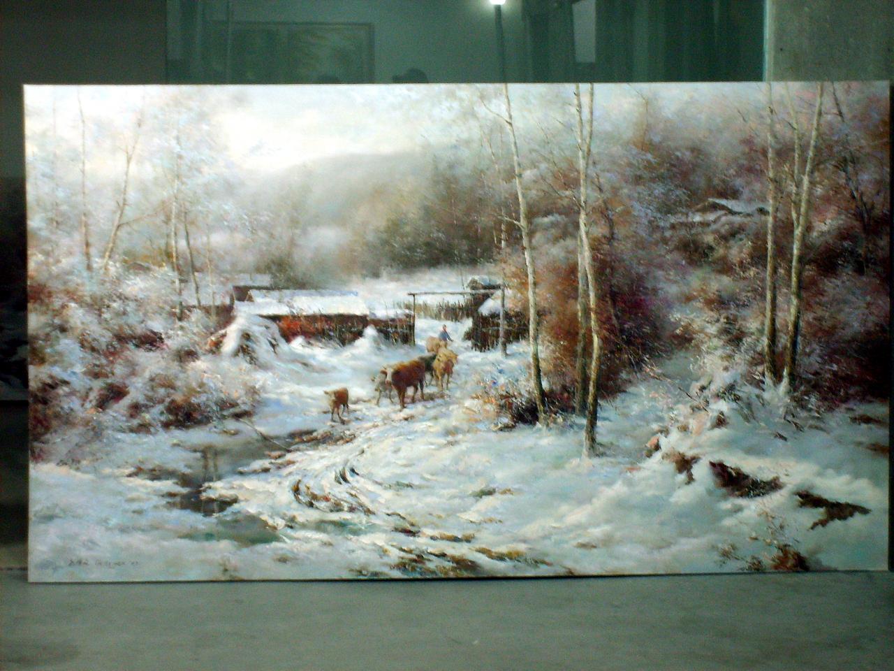 原创油画作品 手绘油画