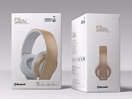 耳机包装设计效-蛇圣品牌