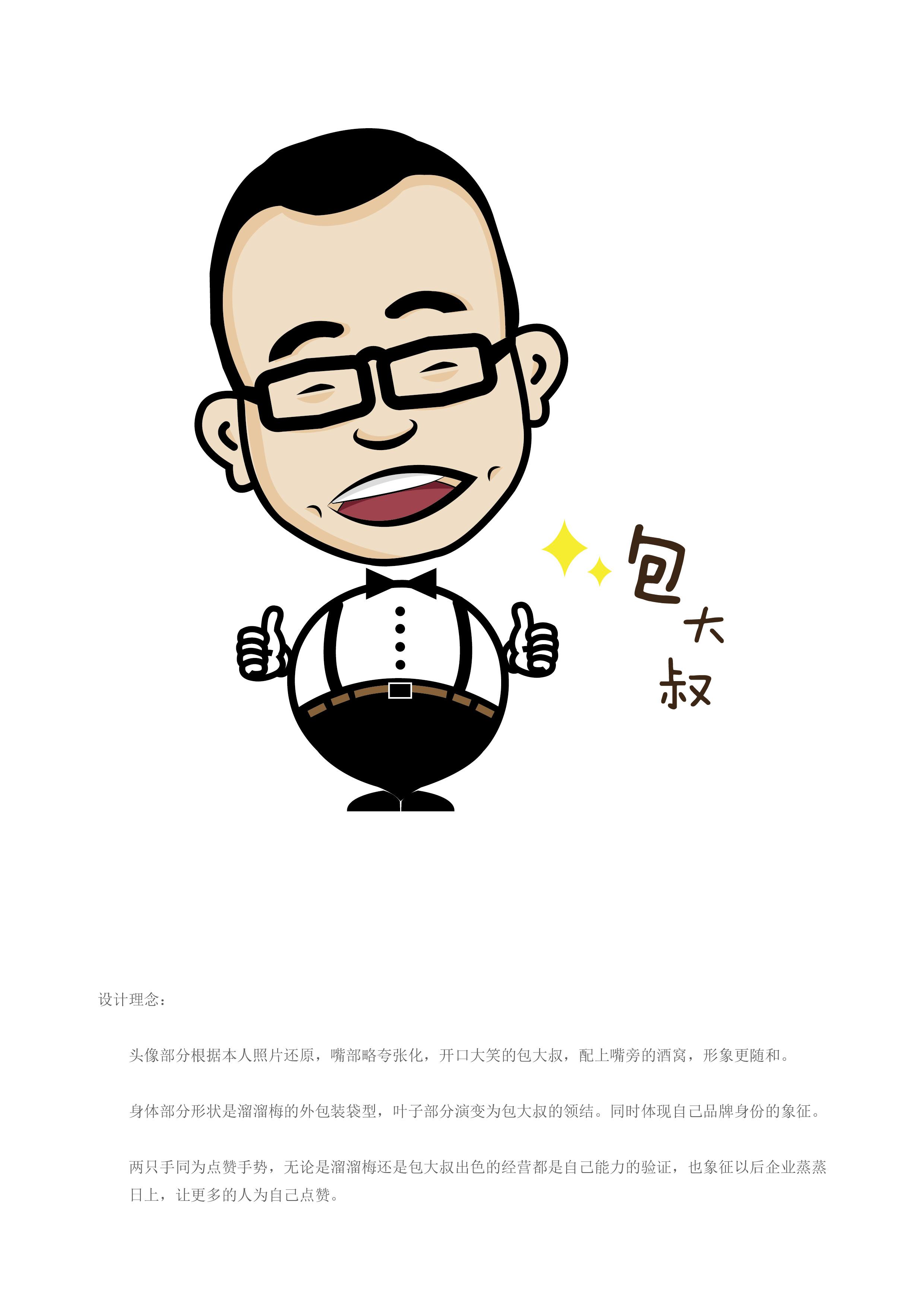 中年大叔卡通微信头像