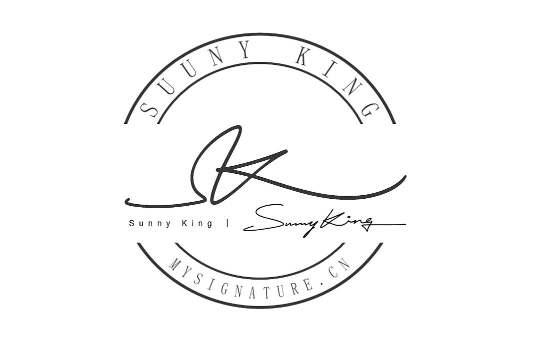 孙字签名字体_英文手写logo设计丨signature logo design丨签名设计|平面|字体/字形|字 ...