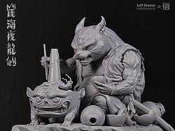 MP&明子 重量级原创作品《崖海度龙仙》原型实体展示!