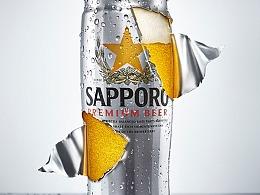 SAPPORO啤酒 新媒体拍摄