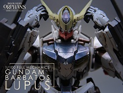 Full Mechanics 1/100 Gundam Barbatos Lupus