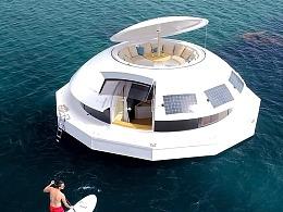 太赞了,海上漂浮舱还能这么设计!