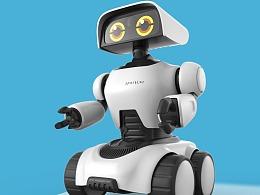 四轮机器人玩具