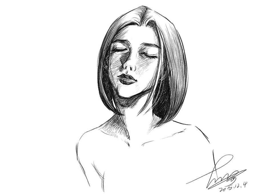 绝望的少女