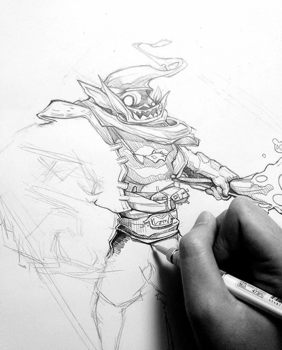 人物形象手绘|其他动漫|动漫|表昂比昂 - 原创设计